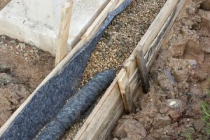 French Drain Installation In Burleson And Fort Worth Tx