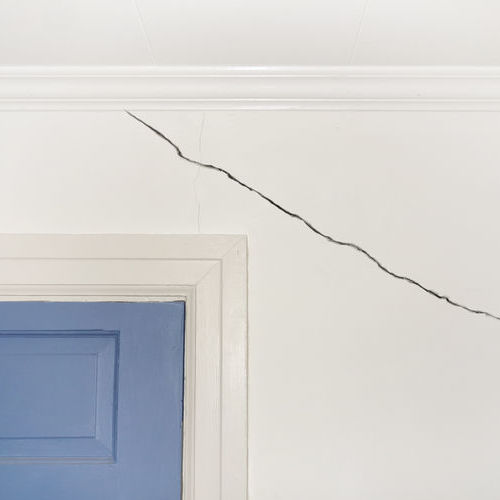 Cracks in your walls should not be ignored or neglected.
